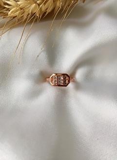 My Joyas Design Sekizgen Serçe Parmak Yüzüğü